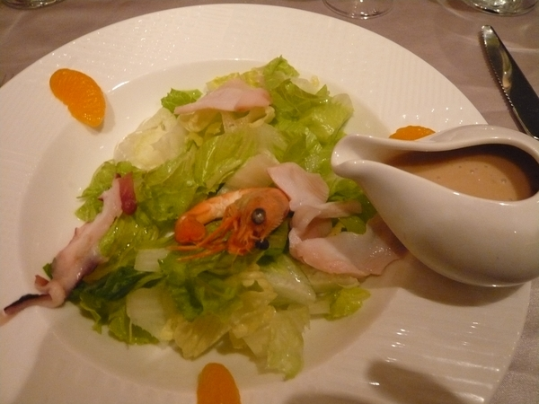 海鮮生菜沙拉
