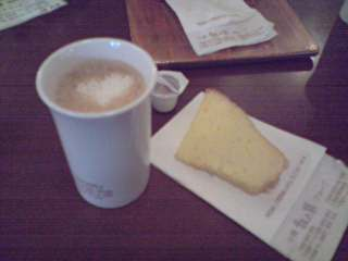 濃醇咖啡+蛋糕.JPG
