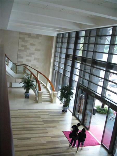 音樂樓的大廳、有點像是飯店的Lobby!