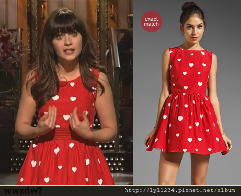 Zooey in Rachel dress
