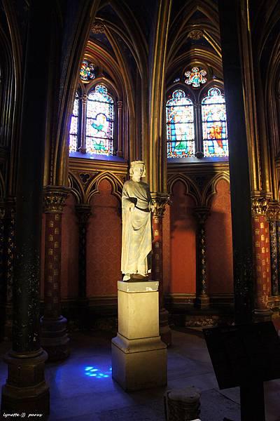 聖禮拜堂La Sainte - Chapelle2012-0704-182209