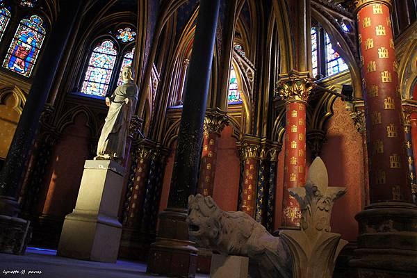 聖禮拜堂La Sainte - Chapelle2012-0704-182419