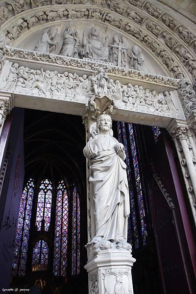 聖禮拜堂La Sainte - Chapelle2012-0704-185320
