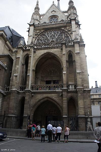 聖禮拜堂La Sainte - Chapelle2012-0704-185621
