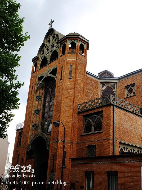第一棟鋼筋水泥的教堂eglise saint-jean de montmartre.JPG