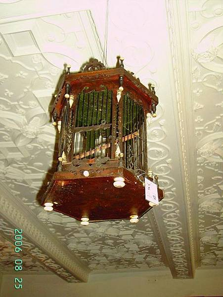 Cage in Norris Dining Room