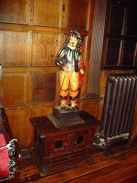 The Statue in Norris Withdrawing Room