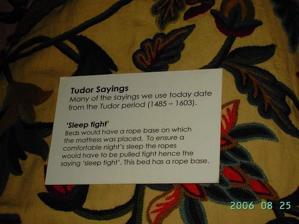 Tudor Says - Sleep Tight