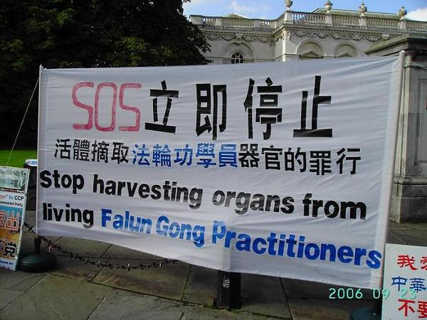 Falung Gong Protest in Cambridge (3)