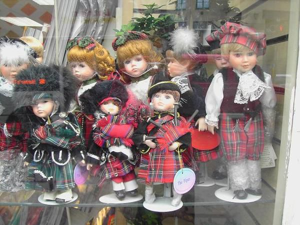 Dolls in Kilts....