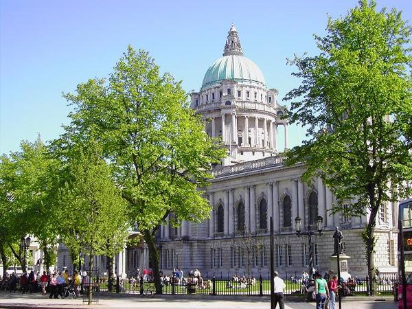 City Hal of Belfast