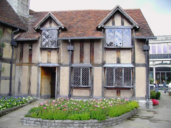 5. The Garden of Shakespeare's Birthplace (1) [ 莎翁故居內的花園]