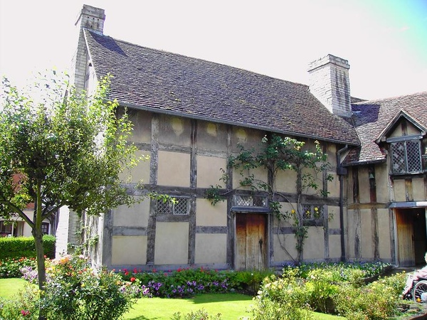 6. The Garden of Shakespeare's Birthplace (2) [ 莎翁故居內的花園]
