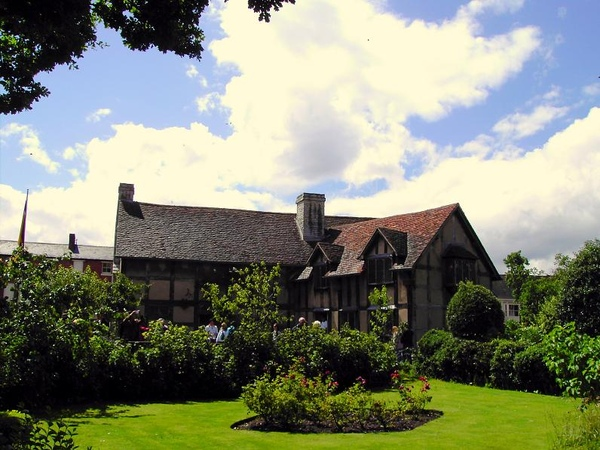 8. The Garden of Shakespeare's Birthplace (4) [ 莎翁故居內的花園]
