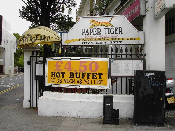 02. Close-up of Paper Tiger