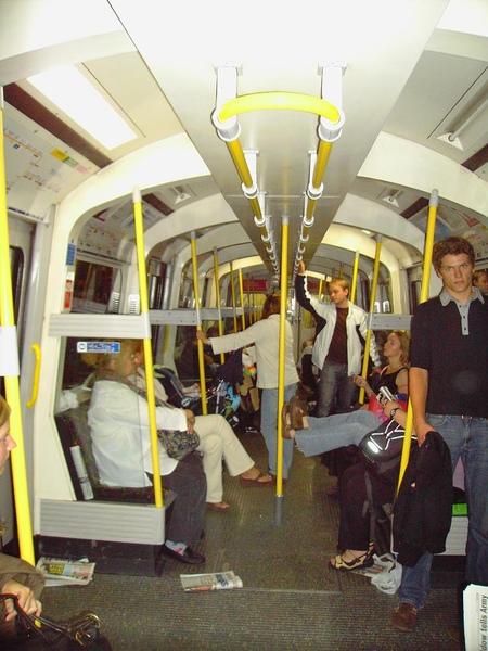 13. Inside the tube