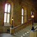 25. Leaving Christ Church College's dining hall