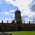 28. View out of the Christ Church College's dining hall