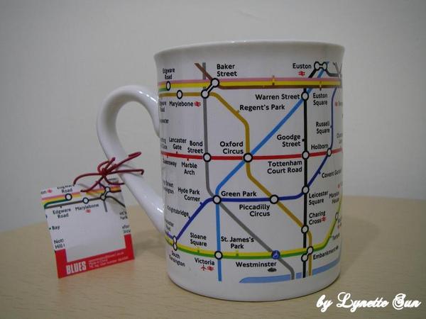 London mug [倫敦地鐵馬克杯]