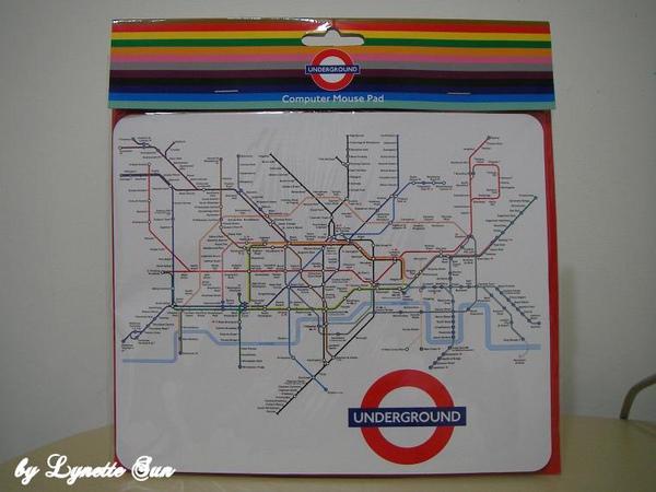 London mouse pad [倫敦地鐵滑鼠墊]