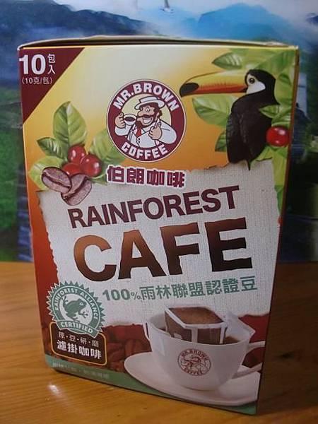 金車伯朗認證豆濾掛咖啡