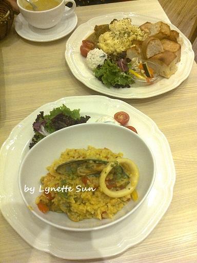 08. Paella & Tikka Masala [西班牙海鮮燉飯 & 印度咖哩]
