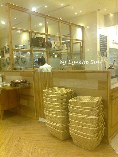 14. Stacks of baskets