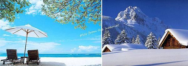 Summer VS Winter [夏天、冬天,哪個好?]