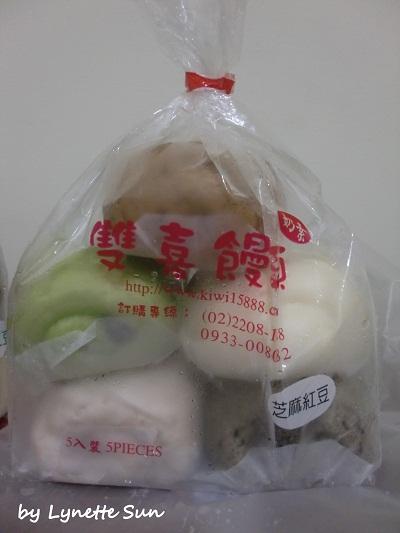 13. 自行分類饅頭-一包就有5種口味的饅頭