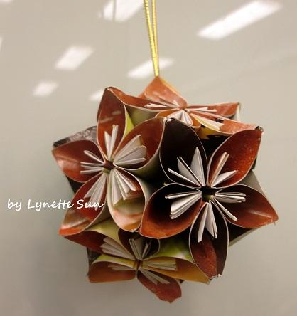 【手作】Handmade Kusudama Paper Flowers [立體花球]
