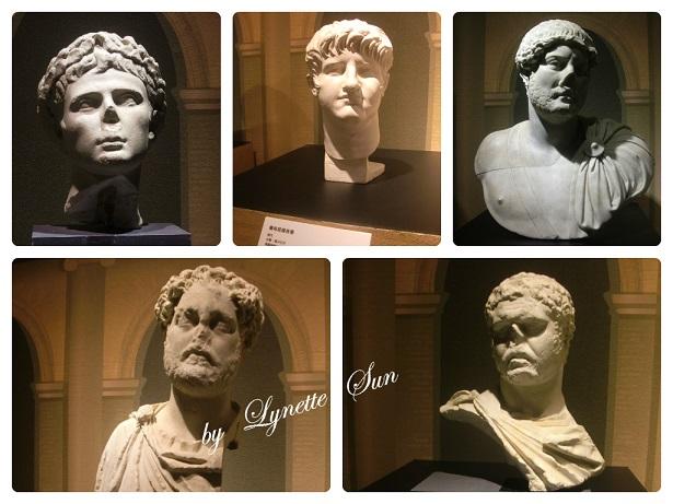17. Collage-Roman emperors