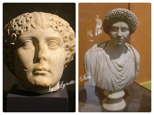 20. Collage-Fashionable hair style in Imperial Roman Time