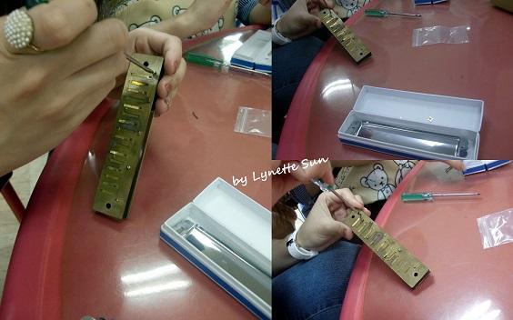 17. Make your own harmonica [自己嘗試組裝口琴]