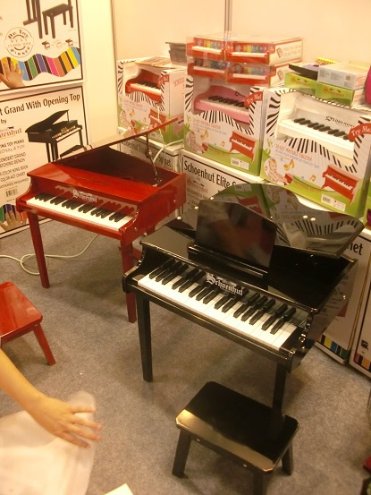 Toy pianos [玩具琴]