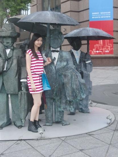 A hot girl from Hong Kong
