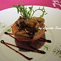 06. Stuffed Tomato with Miso-flavoured grilled king oyster mushroom [炭烤味噌杏鮑菇&蘑菇番茄盅]