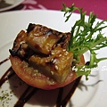 07. Close-up of Stuffed Tomato with Miso-flavoured grilled king oyster mushroom [炭烤味噌杏鮑菇&蘑菇番茄盅特寫]