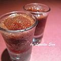 09. Rose blueberry vinegar sorbet [玫瑰藍莓冰醋]