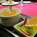 20. Caramel Pudding with Fresh Fruit [手工焦糖烤布丁]
