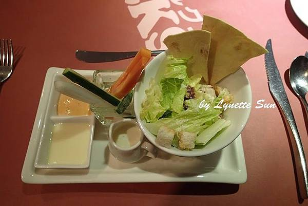 02. Salad [VOLKS 沃克牛排 沙拉]