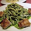 11. Spaghetti Alla Chitarra with Chicken in Pesto Sauce [特製青醬嫩雞琴弦麵]