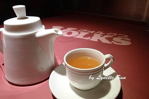 19. Hot Apple Grapefruit Tea [熱蘋果甜柚茶]