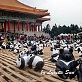 08. Paper panda pyramids [疊羅漢]