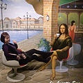 23. Have fun with Mona Lisa [和蒙娜麗莎一起享受下午茶時光].JPG
