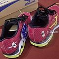 20. MIZUNO美津濃運動跑鞋 (未穿前,新跑鞋內有立體厚紙板支撐)