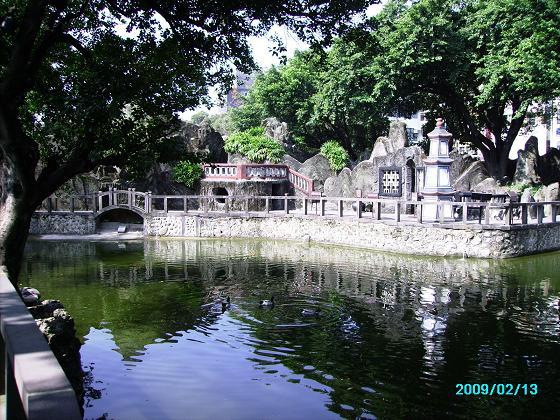 17. The great banyan shaded pond.JPG