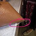 29. 塑膠袋截角記得剪掉以免倒出時會巧克力醬沿邊溢出