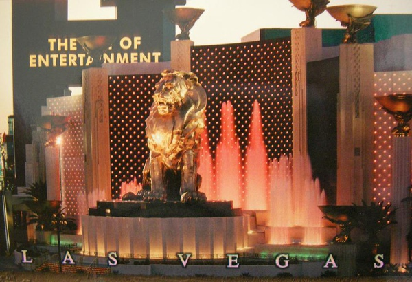 04 Lion statue @ Las Vegas (1) - it reminds me of Singapore