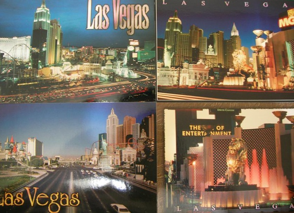 10. Collage of Las Vegas