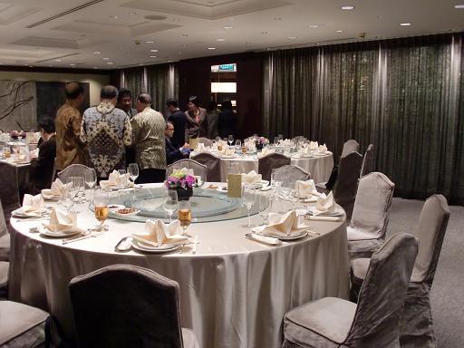 04. The restaurant inside Taipei World Trade Center Club